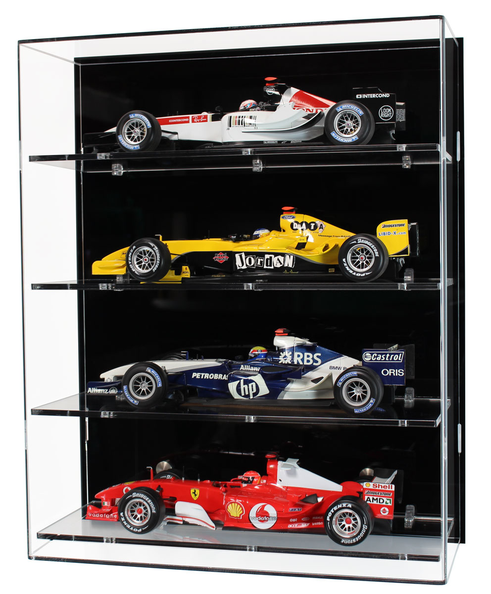 118 Scale Model F1 Car Display Cabinet With Four Shelves In Sizing 992 X  1200