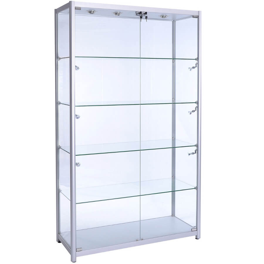 1200mm Wide Glass Retail Display Led F 1200 Led Access Displays within dimensions 900 X 900