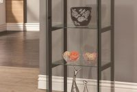 3 Shelf Contemporary Glass Curio Cabinet Coaster Wolf And pertaining to sizing 2400 X 2400