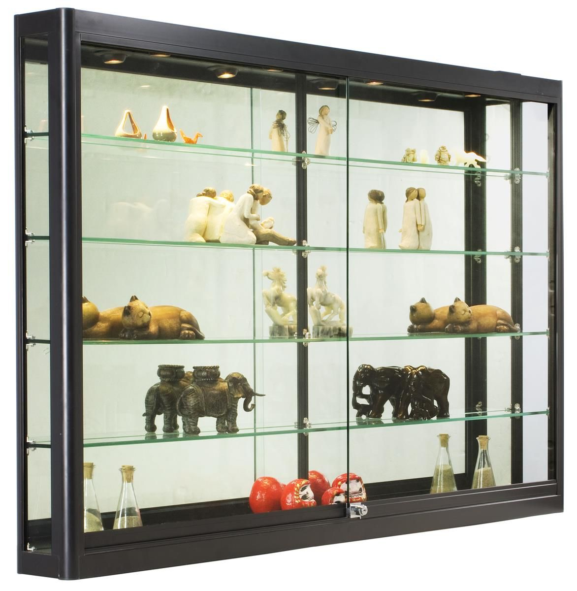 Wall Mounted Display Cabinets For Collectibles Display Cabinet
