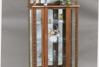 Amish Furniture Curio Cabinets And Display Cases From Dutchcrafters pertaining to proportions 800 X 1121