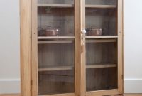 Antique Pine Display Cabinet With Glass Doors Gorgeous And pertaining to measurements 3517 X 5274