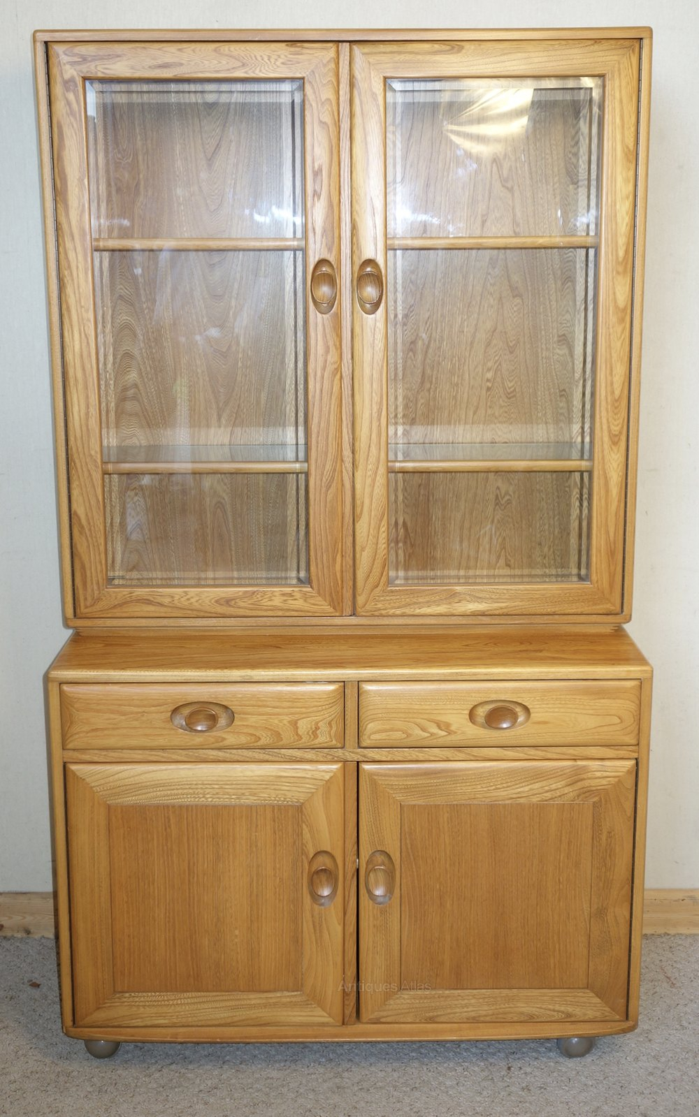 Antiques Atlas Ercol Windsor Display Cabinet throughout sizing 1000 X 1599