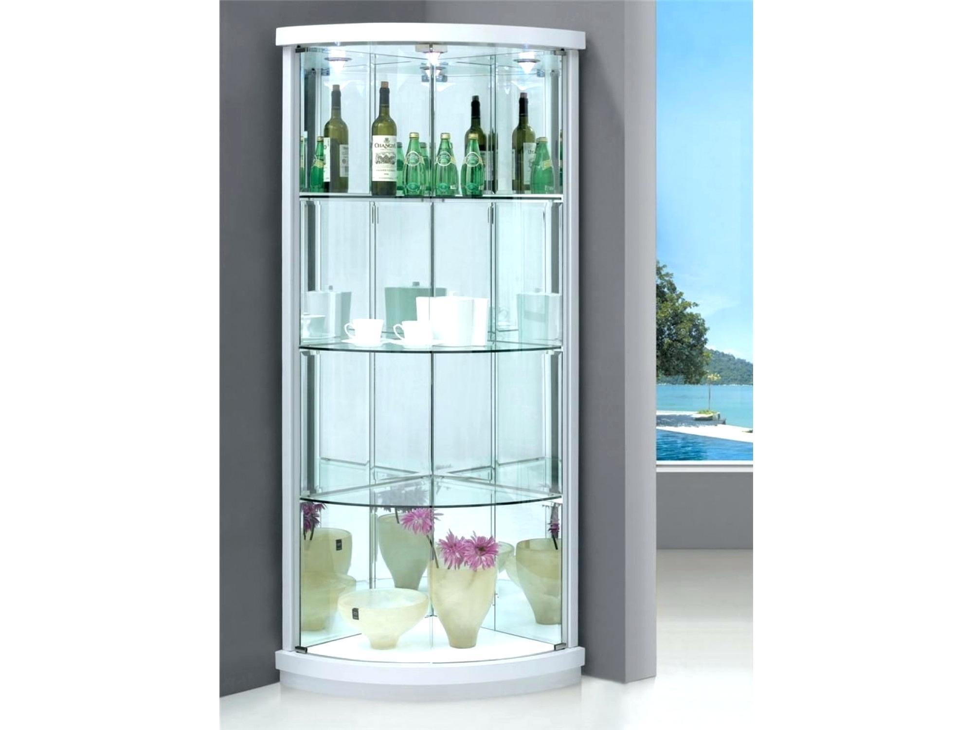 Corner Display Cabinet 000 Australia White Black Gloss inside sizing 2000 X 1500