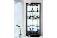 Corner Display Cabinet With 2 Glass Doors Lights Sunny Furniture with sizing 2000 X 1500