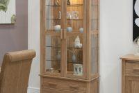 Corner Glass Display Cabinet Light Oak Httpbetdaffaires within sizing 2422 X 2422