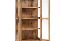 Country Glass Display Cabinet W Doors 391773 Pine Woodfinish in size 1500 X 1500