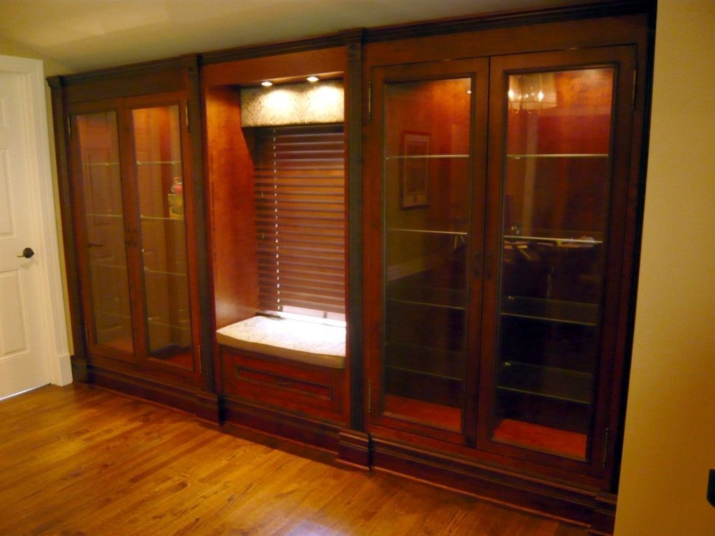 Custom Built In Cherry Display Cabinets Two Rivers Woodworking with measurements 1024 X 768 & Custom Built Display Cabinet u2022 Display Cabinet