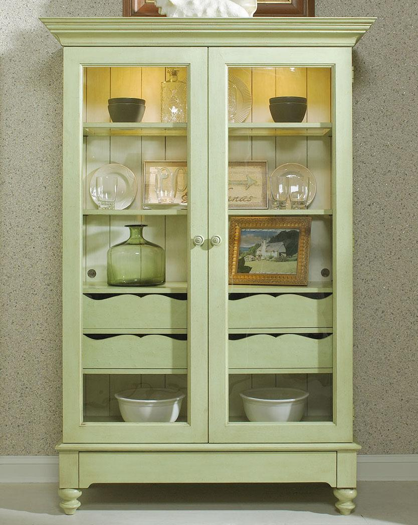 Display Cabinet With 2 Glass Doors Fine Furniture Design Wolf with regard to size 834 X 1048