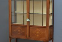 Edwardian Mahogany Display Cabinet Vitrine Antiques Atlas intended for proportions 1000 X 1510