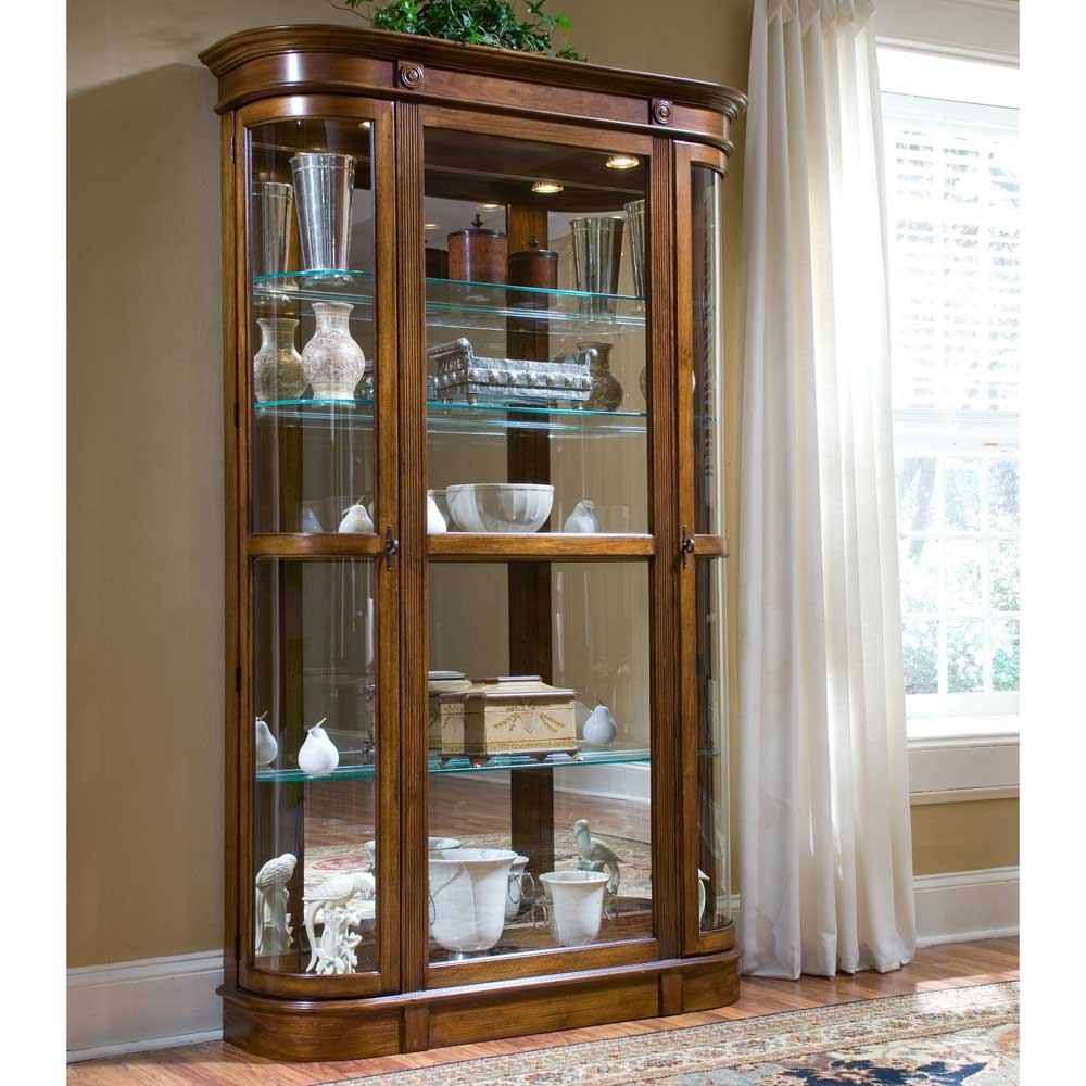 Eye Catching Glass Display Cabinets With Lights Design Furniture Pertaining  To Sizing 1000 X 1000