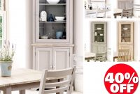 Florence Glass Corner Cabinet Glass Kitchen Dresser Colour Choice for proportions 1520 X 1520