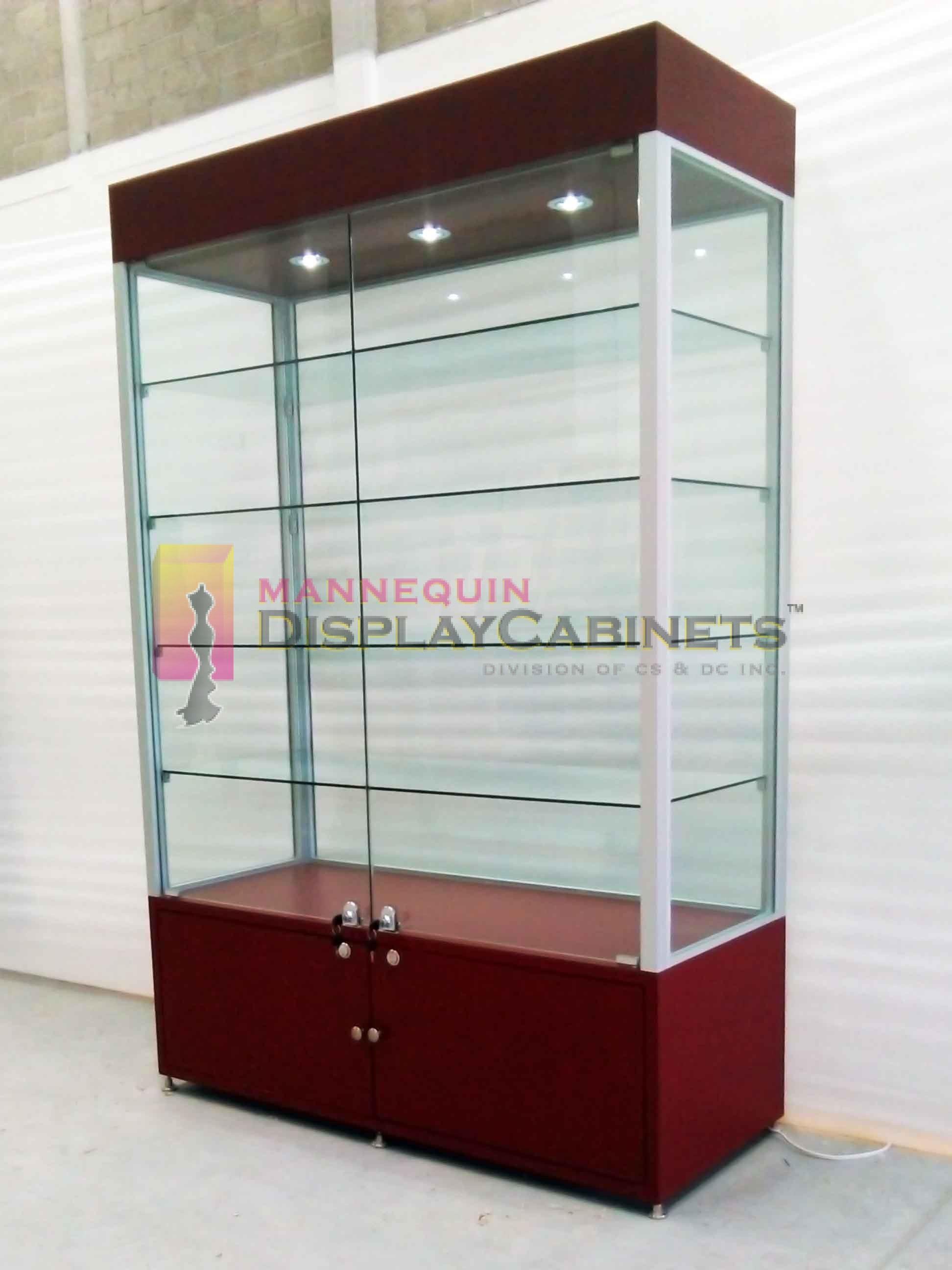 Free Standing Display Cabinets Mannequin Within Size 1944 X 2592