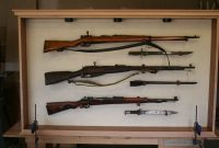 Hand Made Museum World War 2 Rifle Display Cabinet The Oakman in proportions 2496 X 1664