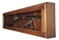 Horizontal Gun Display Case American Furniture Classics 654915 with measurements 1155 X 1155