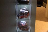 Just Sharing My Helmet Display Case With Lighting Motorcycles pertaining to measurements 1840 X 3264