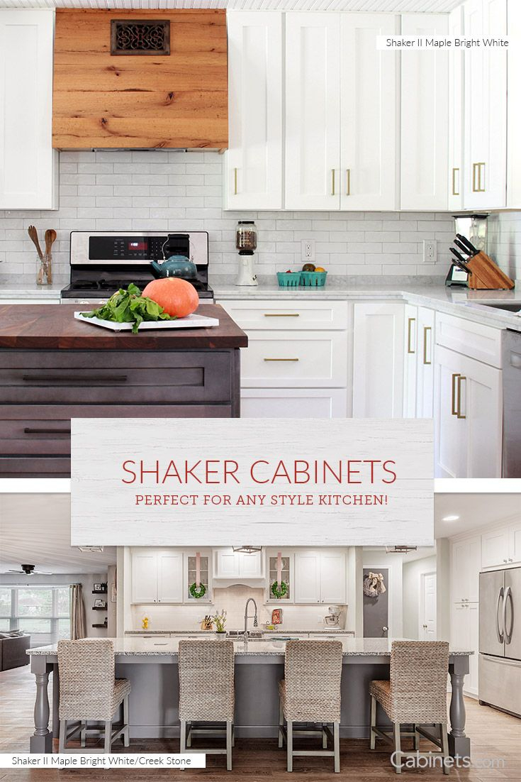 Shaker Kitchen Display Cabinet Display Cabinet - Wayfair kitchen cabinets