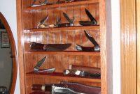 Knife Display Cabinet Edgarpoe regarding measurements 1944 X 2592