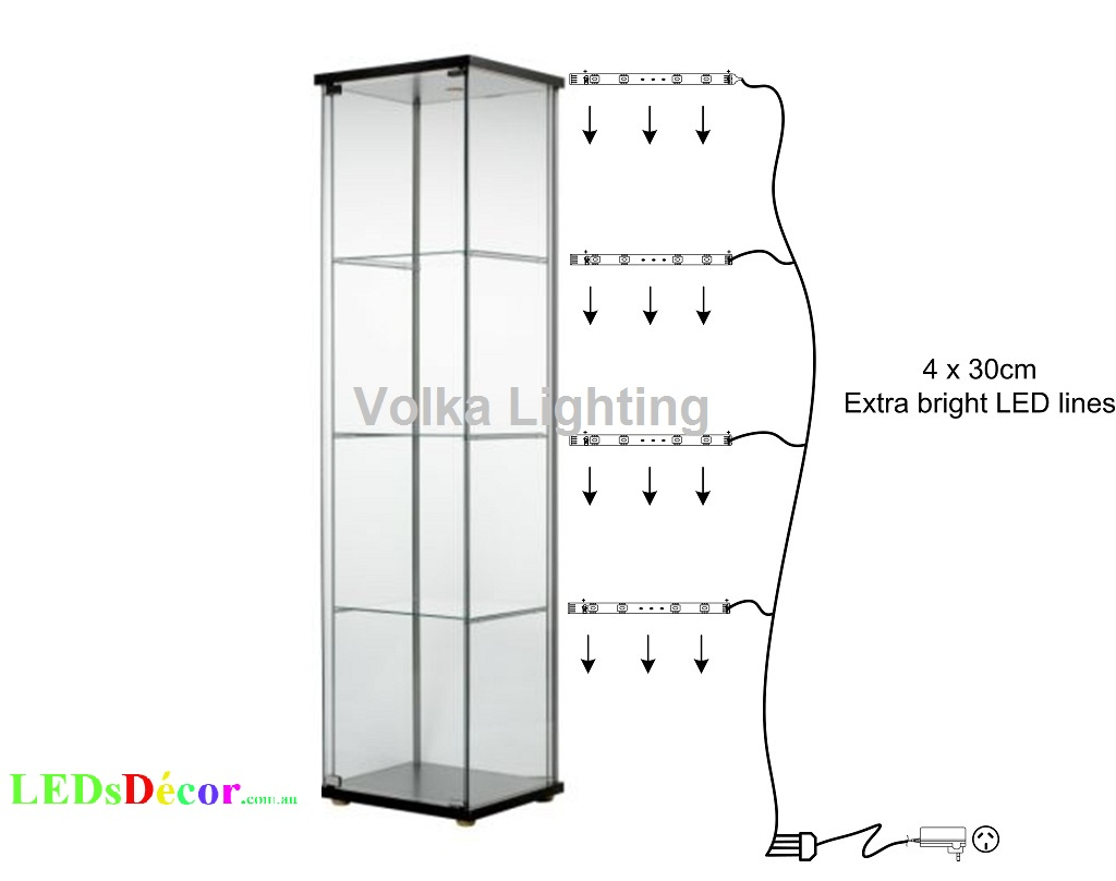 Led Lights For Gl Display Cabinets Volka Lighting Pty Ltd With Size 1024 X 808