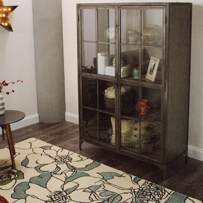 Metal Display Cabinet World Market Inside Size 3000 X
