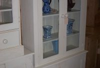 Painted Shaker 3ft6 Glazed Display Cabinet The Pinehouse Company within proportions 1200 X 1800