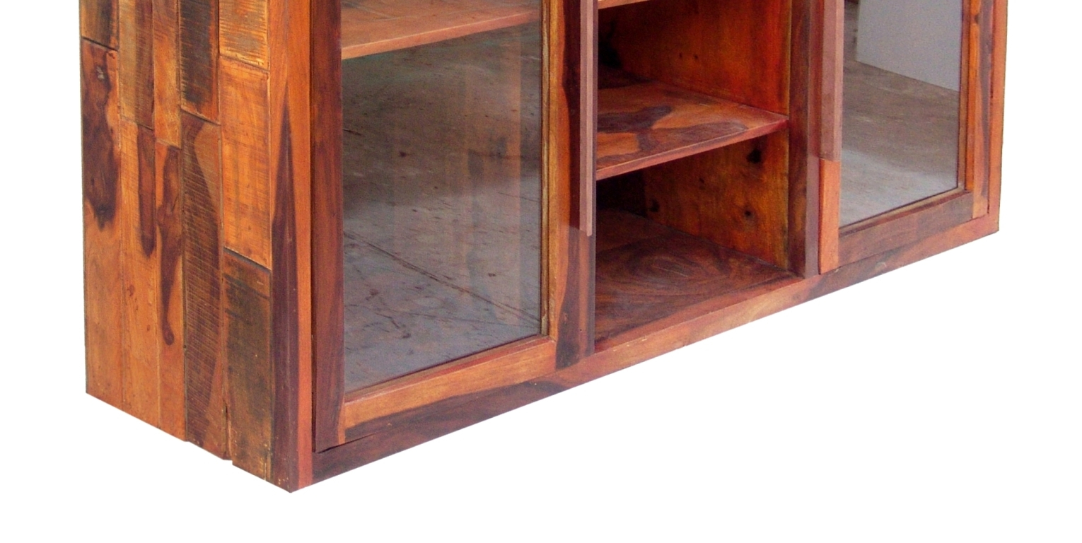Pallet Display Cabinet Two Glass Door Umaid Craftorium for sizing 1530 X 768