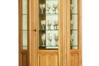 Solid Oak Hexagonal Display Cabinet 1 Door Solidwoodexpert with size 1000 X 1330