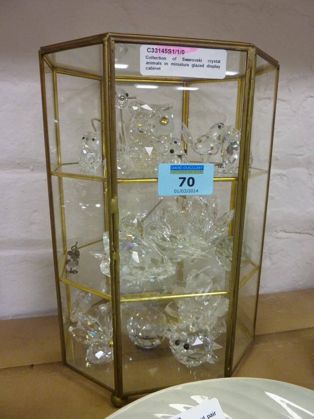 Swarovski Crystal Display Cabinet Edgarpoe Pertaining To Sizing 1000 X 1333