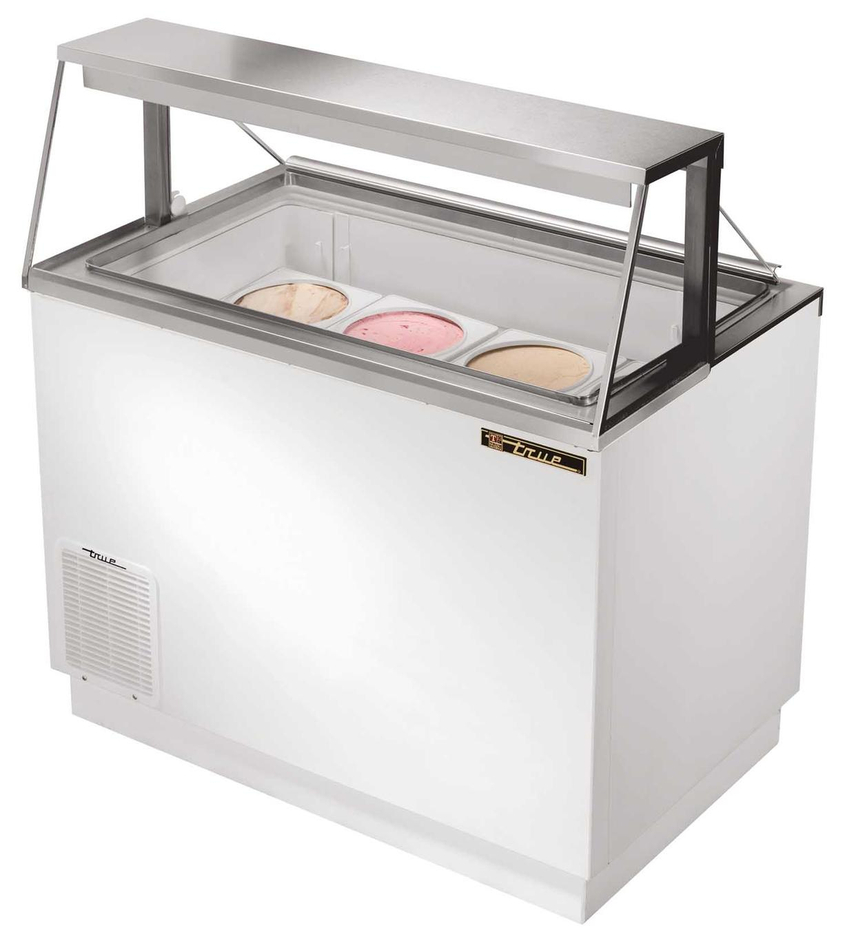 True Tdc 47 8 Flavor Ice Cream Dipping Cabinet Holds 12 Cans Sub pertaining to size 1226 X 1366