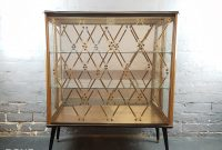 Vintage 1950s Glass Teak Display Cabinet Vinterior with measurements 3335 X 2939