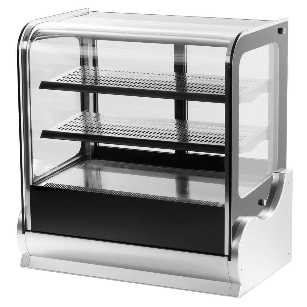 Vollrath 40865 36 Cubed Glass Heated Countertop Display Cabinet with regard to size 1000 X 1000