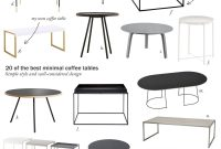 20 Of The Best Minimal Coffee Tables Scandinavian Inspiration intended for dimensions 1800 X 2645