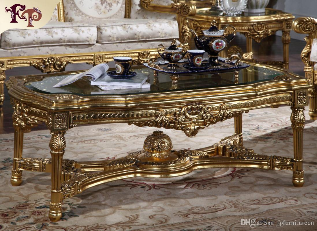 2019 Antique Classic Furniture French Classic Coffee Table With inside measurements 1098 X 800