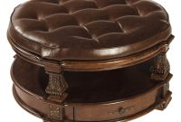 36 Top Brown Leather Ottoman Coffee Tables intended for sizing 2000 X 1714