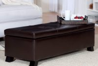 36 Top Brown Leather Ottoman Coffee Tables within measurements 2400 X 2400