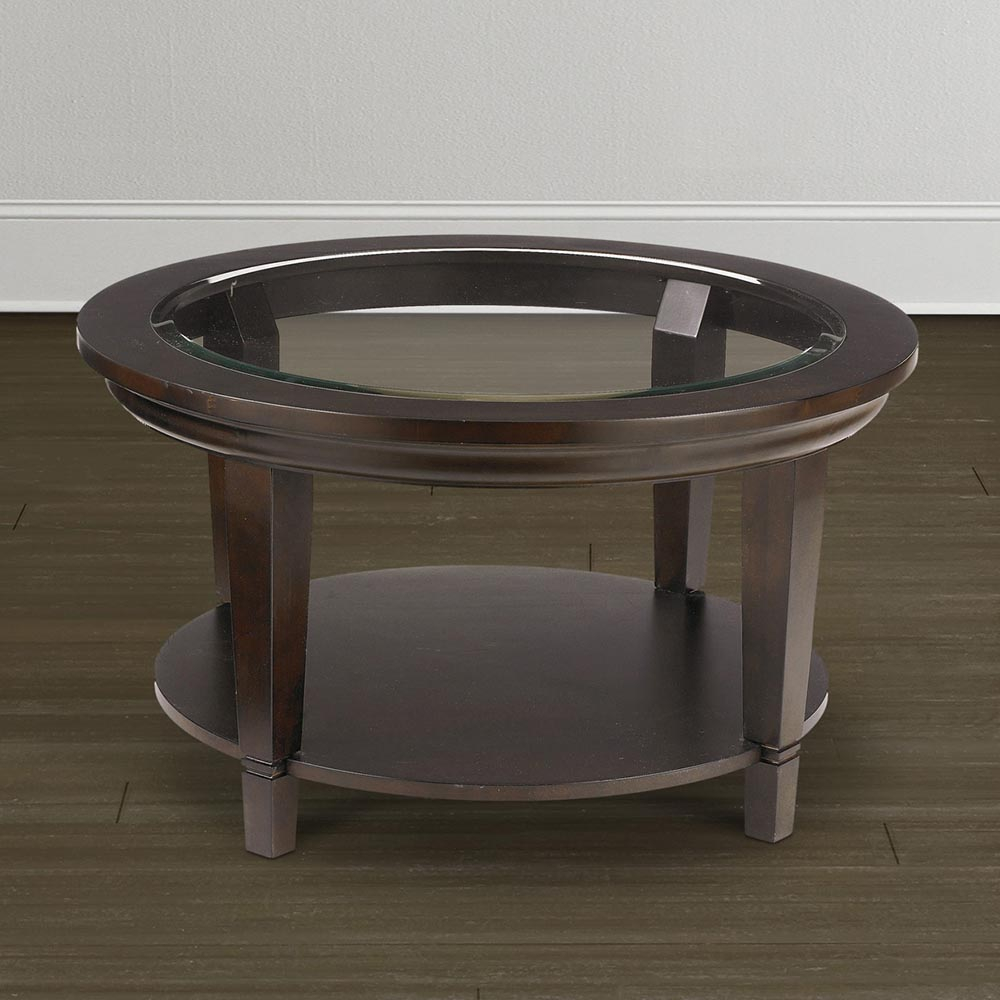 59 Round Glass Top Coffee Table Coffee Table Round Glass Top with regard to dimensions 1000 X 1000