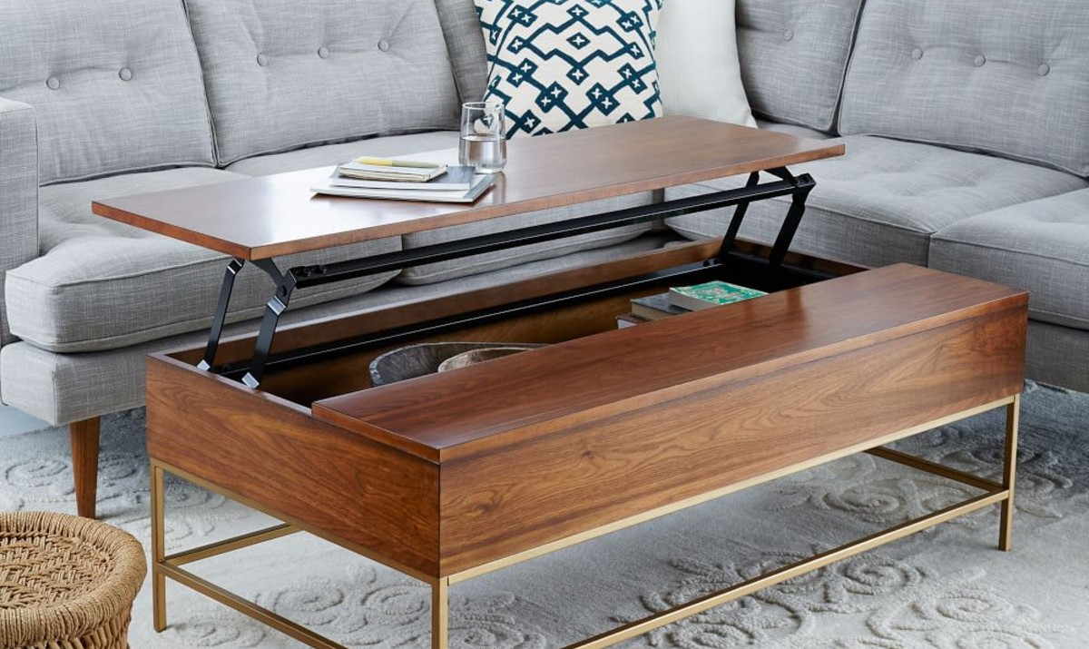 8 Best Coffee Tables For Small Spaces pertaining to size 1200 X 715