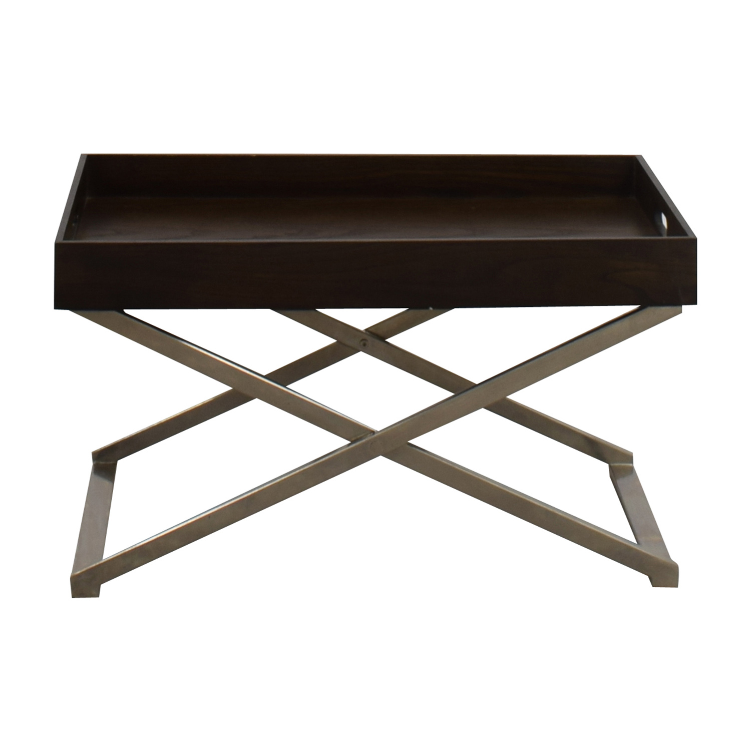 85 Off West Elm West Elm Collapsible Coffee Table Tables intended for measurements 1500 X 1500