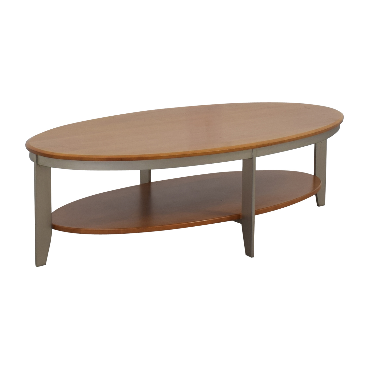 89 Off Ethan Allen Ethan Allen Elements Collection Honey Oval for dimensions 1500 X 1500