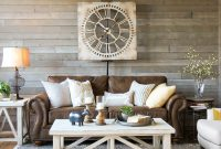 A Farmhouse Living Room That Will Make You Want A Brown Sofa pertaining to measurements 1080 X 1023
