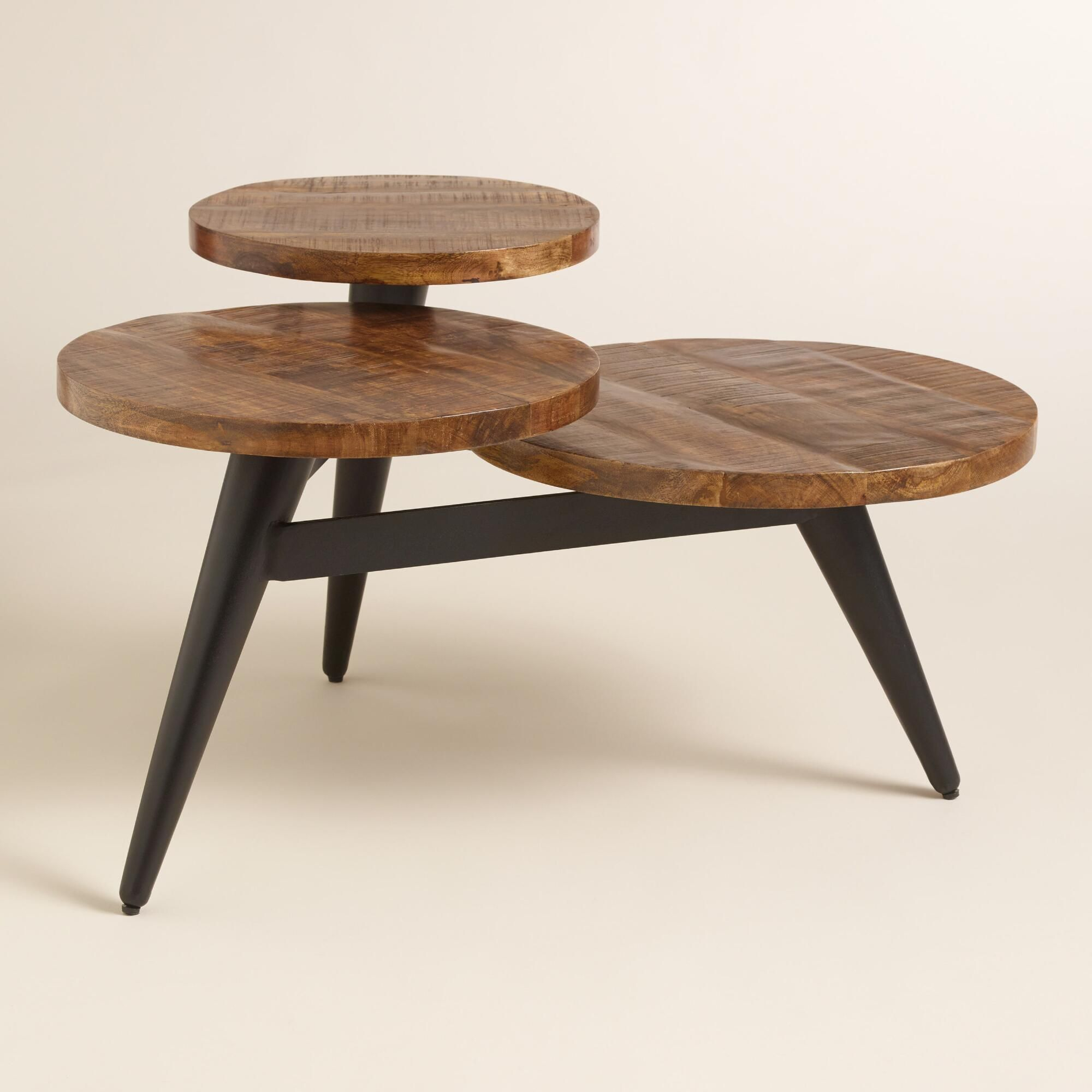 A Standout Statement Piece Our Three Tier Coffee Table Features A for measurements 2000 X 2000