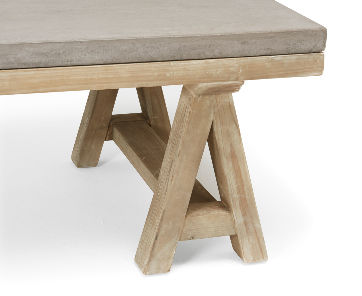 Ace Coffee Table Concrete Top Coffee Table Loaf intended for dimensions 1271 X 1041