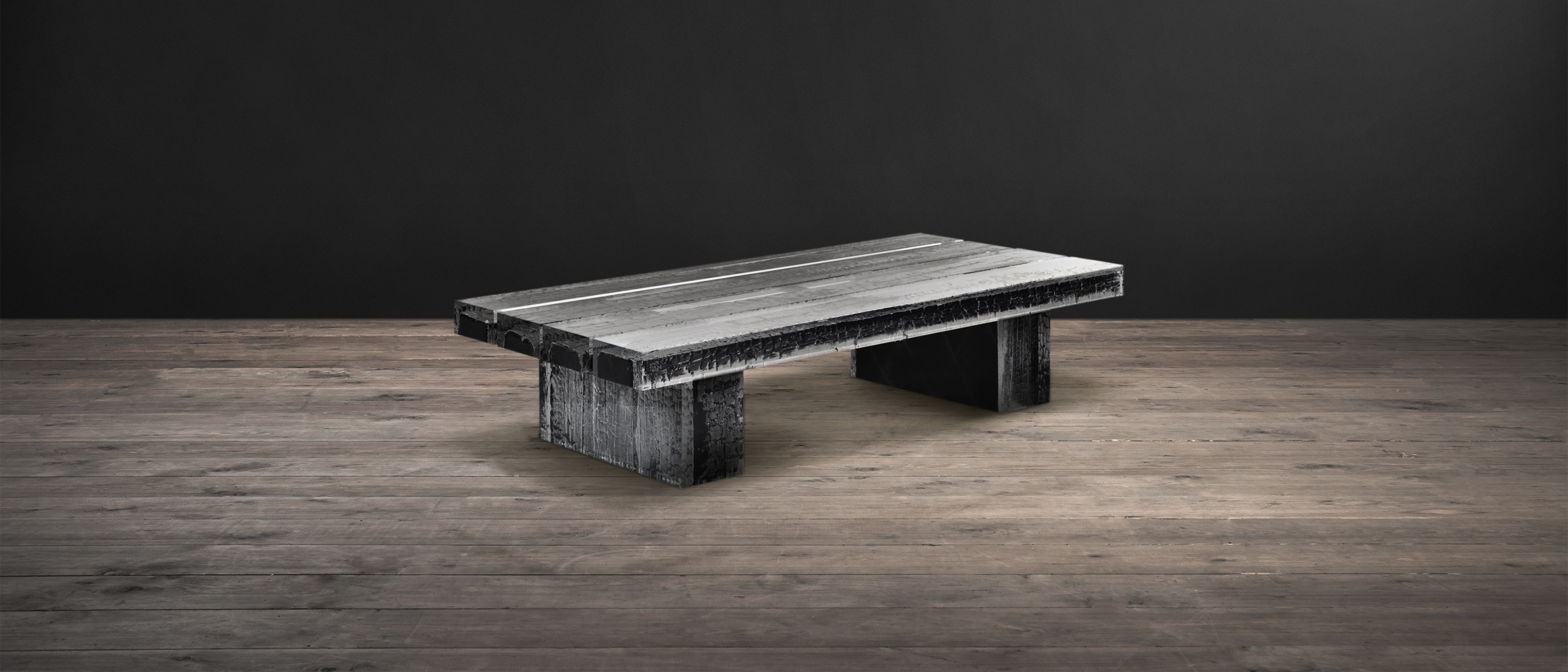 Acrylic Wood Coffee Tables Glacier Timothy Oulton pertaining to size 3500 X 1500
