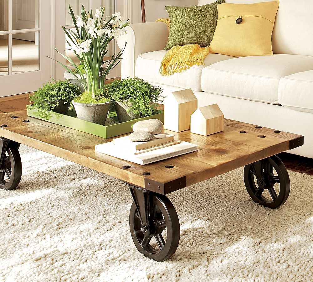 Add Character To Room With Rustic Tables Livingroom Decorating for dimensions 1000 X 900
