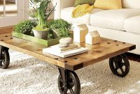 Add Character To Room With Rustic Tables Livingroom Decorating within size 1000 X 900