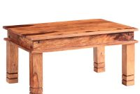 Alwar Solid Two Tone Sheesham Wood Small Coffee Table Msl Furniture with measurements 1000 X 955