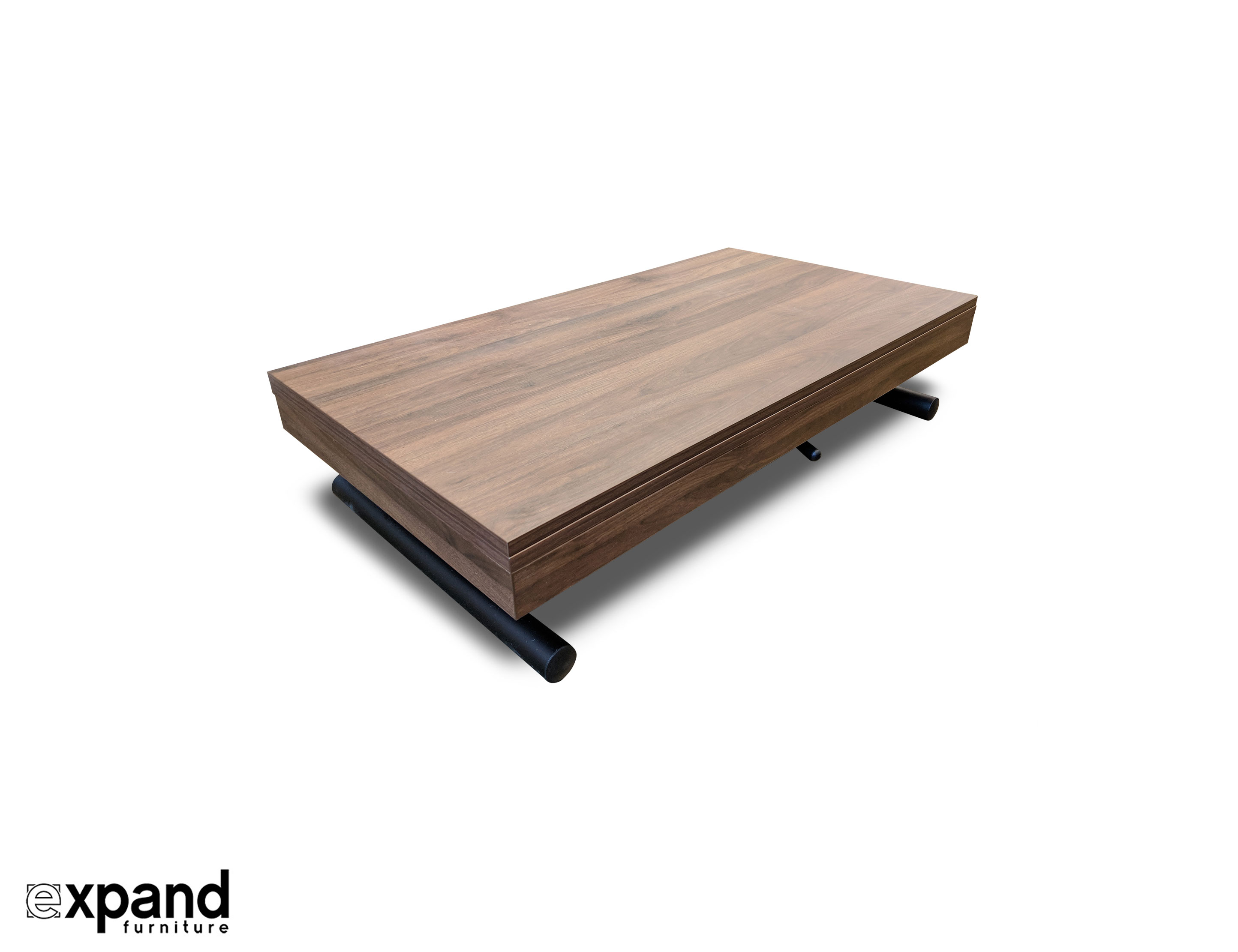 Alzare Small Transforming Coffee Table Expand Furniture Folding with proportions 2888 X 2222