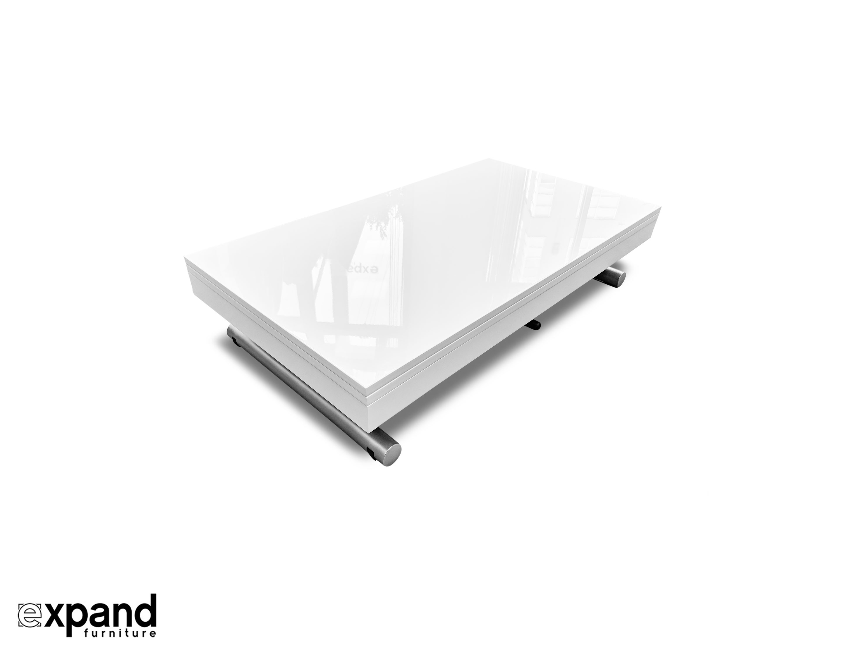 Alzare Small Transforming Coffee Table Expand Furniture Folding with regard to dimensions 2888 X 2222
