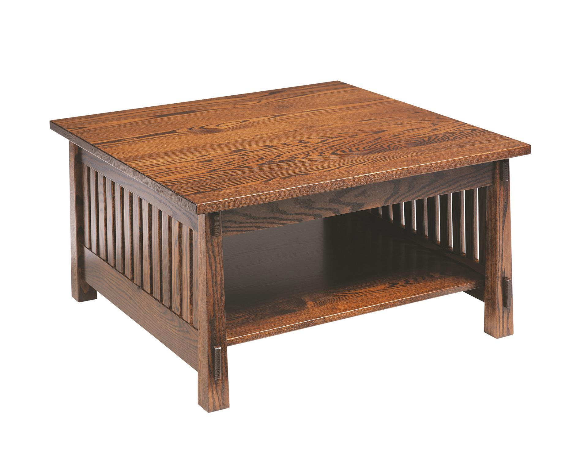 Amish Countryside Mission Square Coffee Table in measurements 1920 X 1536