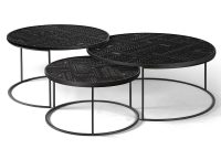 Ancestors Tabwa Round Nesting Coffee Table Set Of 3 Rouse Home in measurements 1000 X 1000